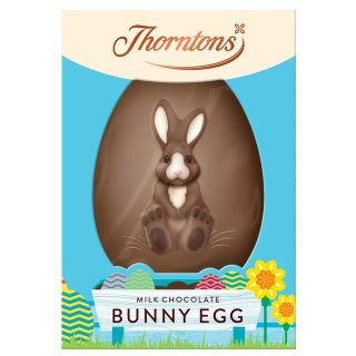 Thorntons Harry Hopalot Milk Chocolate Bunny Egg 151g