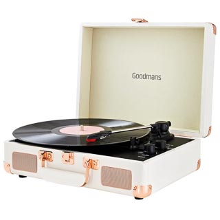 Goodmans Revive Bluetooth Turntable - White