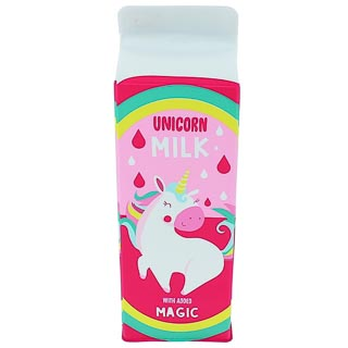 Milk Carton Pencil Case - Unicorn Milk