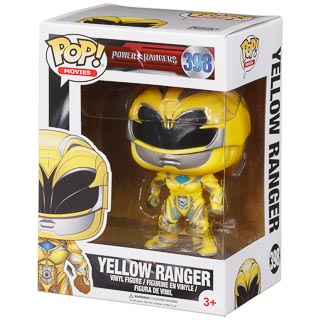 Pop! Heroes Vinyl Figure - Yellow Ranger