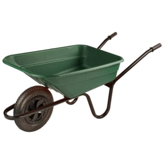 Shire Wheelbarrow 90L - Green
