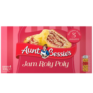 Aunt Bessie's Jam Roly Poly 300g