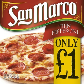 San Marco Pepperoni Pizza 251g