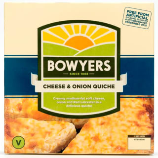 Bowyers Cheese & Onion Quiche 330g