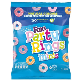 Fox's Mini Party Rings 6pk