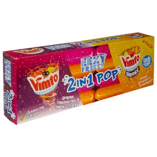 Vimto Remix 2-in-1 Freeze Pops 8pk