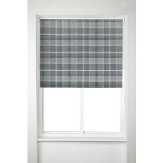 Oakland Check Roller Blind 180cm - Grey