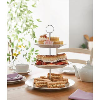 Afternoon Tea 3 Tier Cake Stand