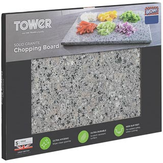 Solid Granite Chopping Board - Light