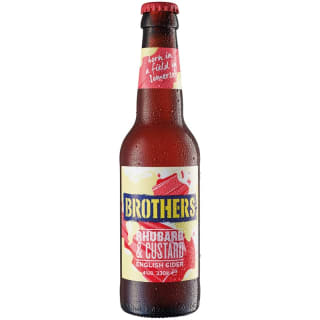Brothers Rhubarb & Custard English Cider 330ml