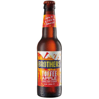 Brothers Toffee Apple English Cider 330ml