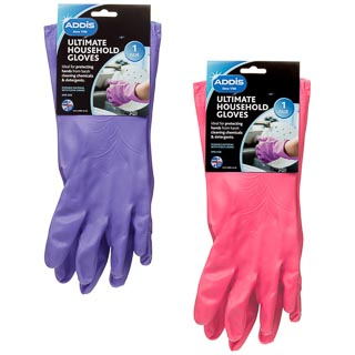 Addis Ultimate Household Gloves - Pink