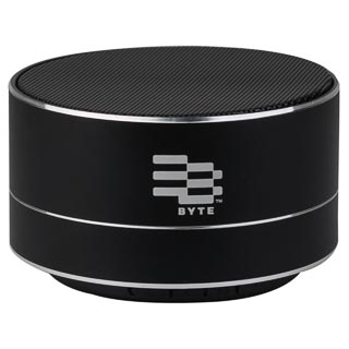 Byte Metal Bluetooth Speaker - Black