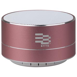 Byte Metal Bluetooth Speaker - Pink
