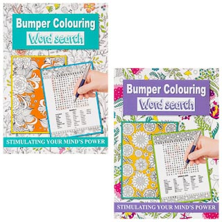 Bumper Colouring Word Search