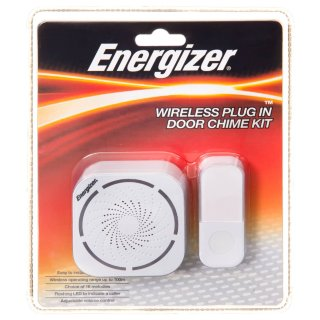 Energizer Wireless Plug In Door Chime Kit