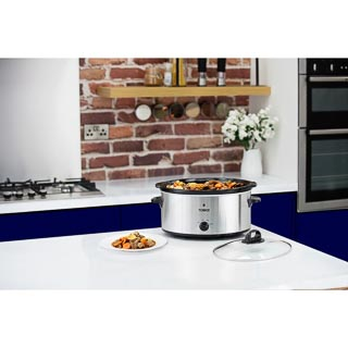 Tower 6.5L Slow Cooker - Stainless Steel