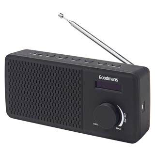 Goodmans DAB Radio - Black