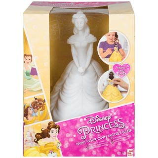 Disney Princess Paint Your Own Money Bank