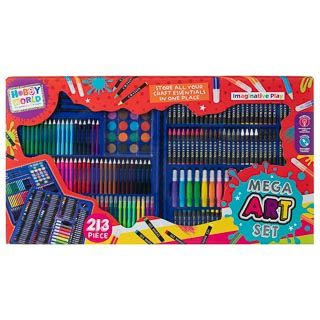 Hobby World Mega Art Set 213pc