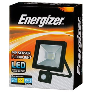 Energizer PIR Motion Sensor LED Floodlight
