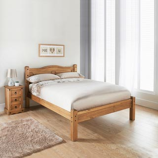 "Rio 4ft 6"" Double Bed"