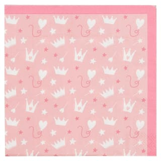 Kids Party Napkins 30pk - Princess