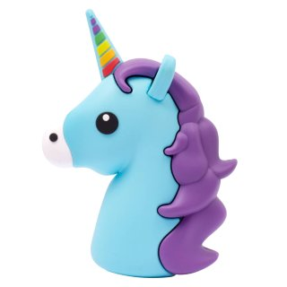 Byte Unicorn Power Bank - Blue