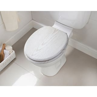 Addis Wooden Toilet Seat - White