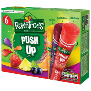 Rowntree's Push Up Ice Lollies 6pk