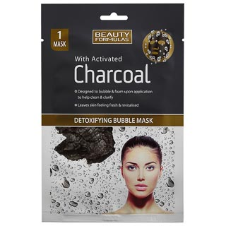 Beauty Formulas Charcoal Bubble Mask