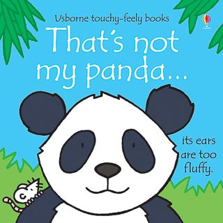 Usborne Touchy Feely Book - That's Not My Panda