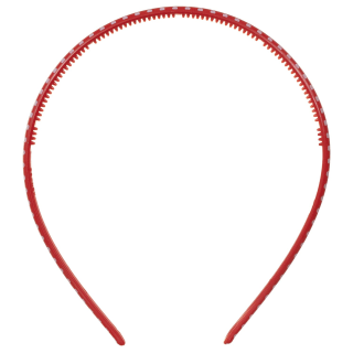 Ella School Hair Accessories - Assorted Headbands (Red)