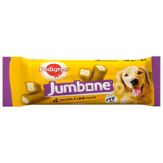 Pedigree Jumbone Chicken & Lamb 2pk