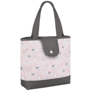 Patterned Insulated Food Bag - Cat