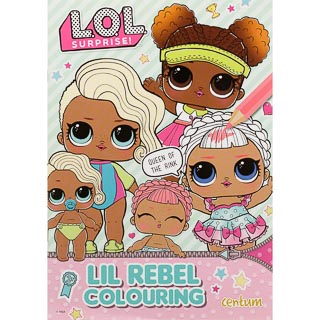 L.O.L Surprise! Lil Rebel Colouring Book