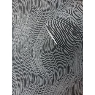 Orla Wave Wallpaper - Slate