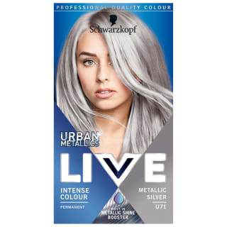 Schwarzkopf Urban Metallics Live Colour - Metallic Silver