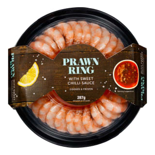 Prawn Ring with Sweet Chilli Dip 287g