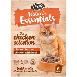 Nature's Essentials Pouches 8pk - Chicken Selection