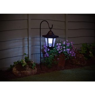 Shepherd's Crook Lantern Solar Light
