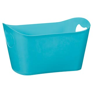 Plastic Storage Tub - Teal