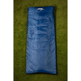 Outdoor Adventure Envelope Sleeping Bag - Navy