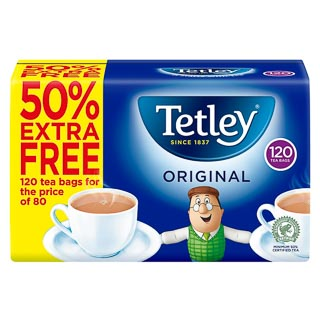 Tetley Original Tea Bags 120pk