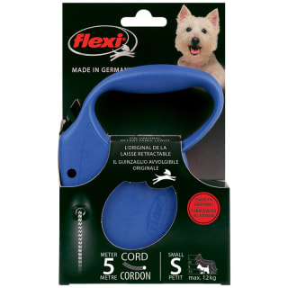 Flexi Dog Lead 5m - Small - Blue