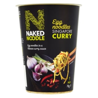 Naked Noodle Singapore Curry Pot 78g