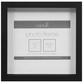 Square Photo Frame - Black