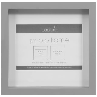 Square Photo Frame - Grey