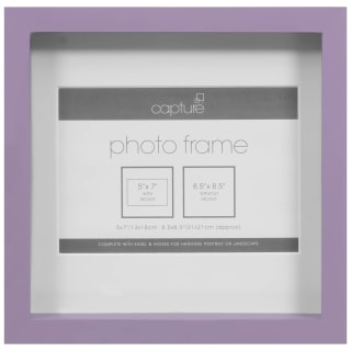 Square Photo Frame - Purple