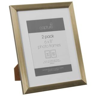 Basic Metallic Picture Frames 2pk - Gold